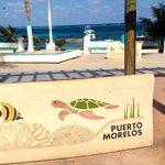 mexoco cancun kurort puerto morelos
