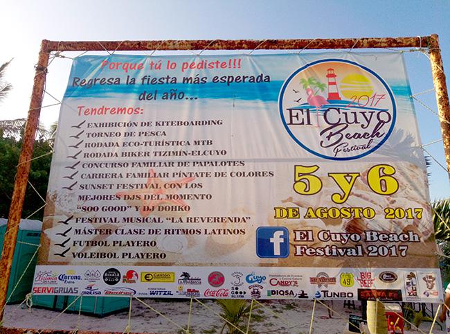 el cuyo beach festival mexico