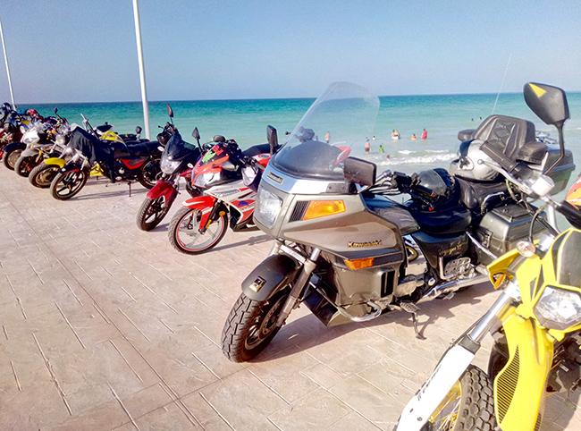 Байк фестиваль на пляжах Эль Куйо.