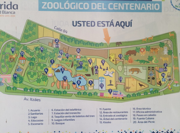 zoological park of centenario