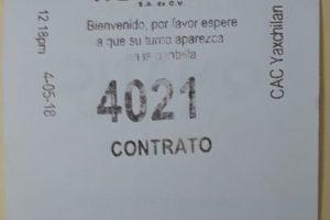 Как поменять имя в контракте на воду в Канкуне. Мексика