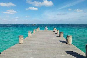 Пуэрто Морелос, курорт и рыбацкий поселок в Мексике.