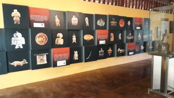 Музей на территории Калакмуль. Фрески и их описание.