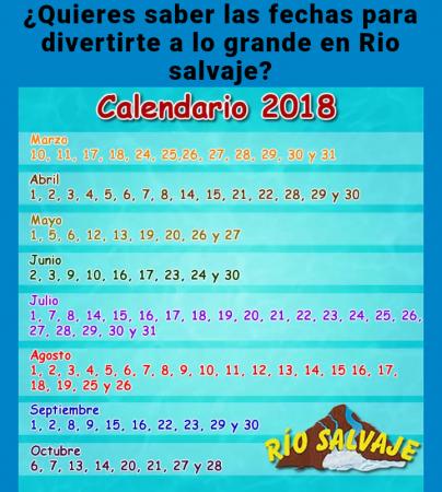 Даты и часы работы аквапарка в Мериде.