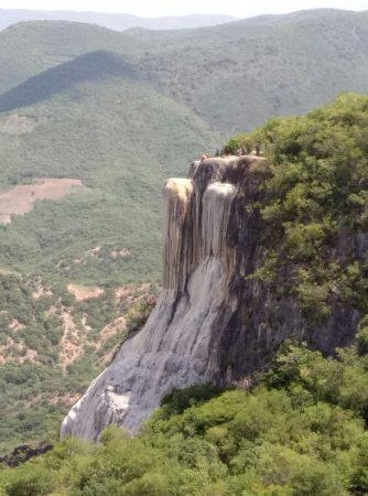 Это не водопад в Hierve el agua в Оахаке