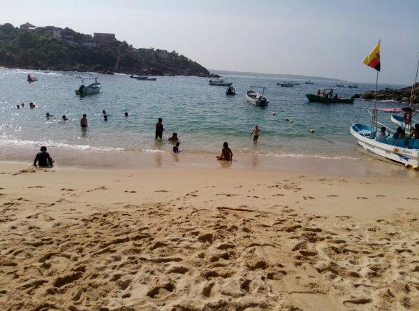 Пляж Angelito в Пуэрто Эскондидо