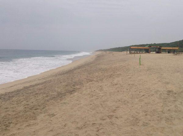 Пляж Bacocho в Пуэрто Эскондидо