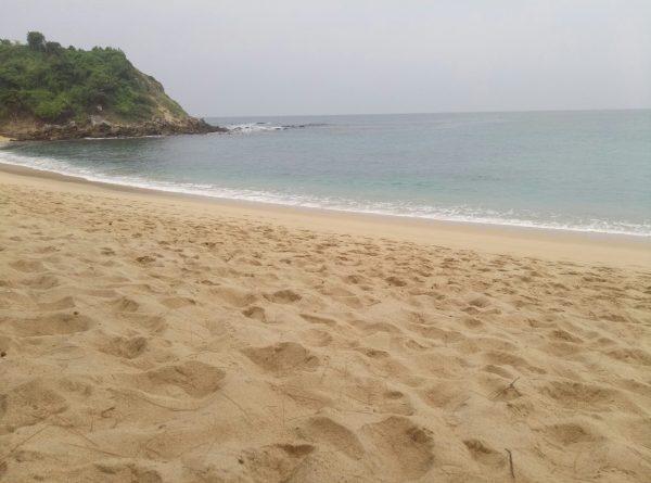 Пляж коралл в Пуэрто Эскондидо