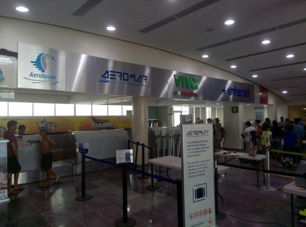 Аэропорт Пуэрто Эскондидо в Мексике