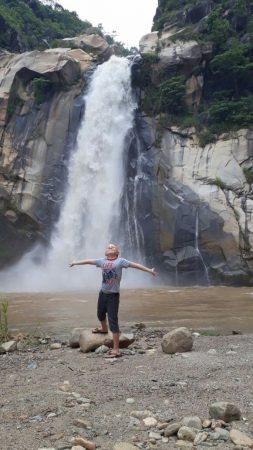 Водопады и каскады в Пуэрто Эскондидо, La Cascada Encantada.