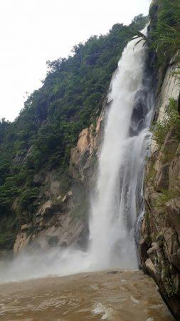 Водопад La Cascada Encantada в Пуэрто Эскондидо