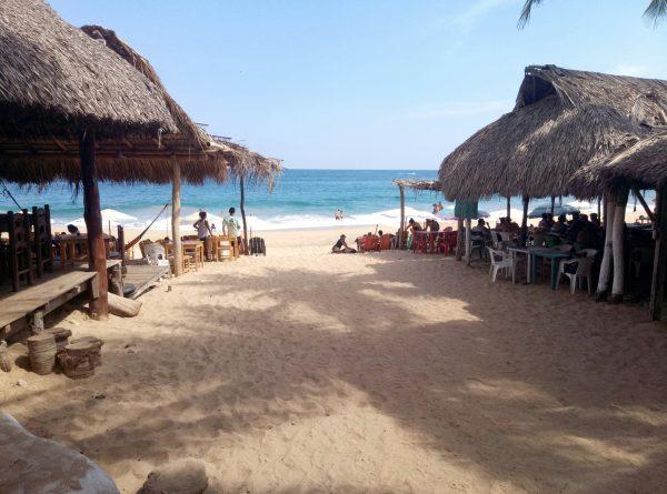 Рестораны пляжа Mazunte
