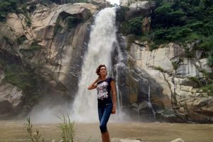 Водопады в Оахаке. La Cascada Encantada рядом Пуэрто Эскондидо.