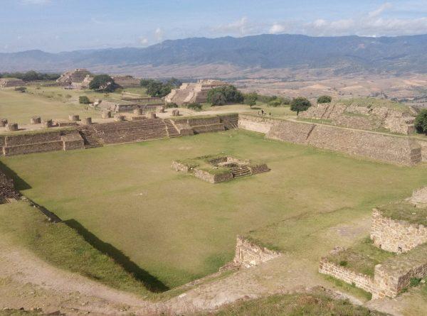 Северный храм Монте Албан, Оахака. Цивилизация сапетеков.