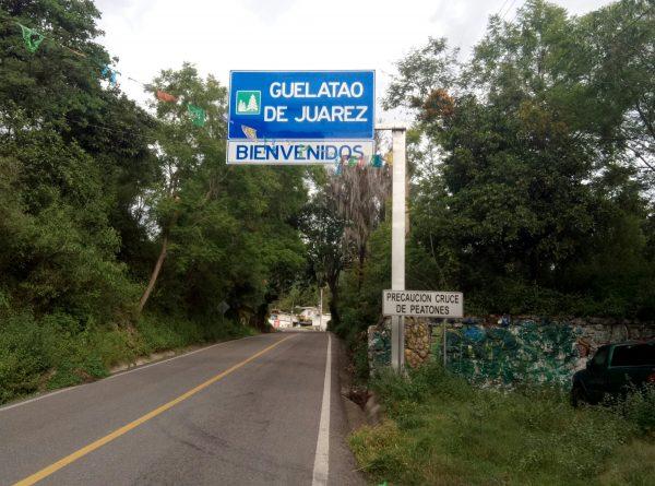 Родная деревня Бенито Хуареса.