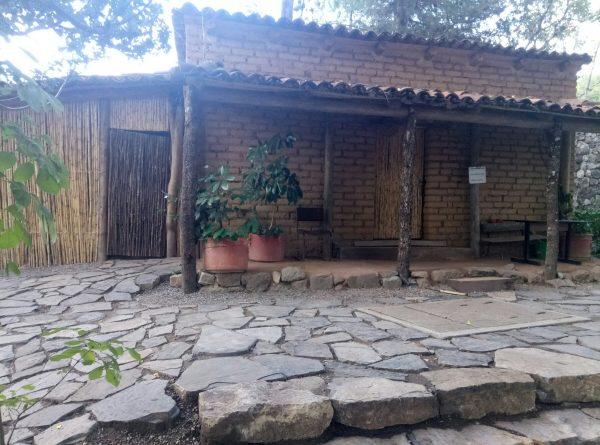 Дом-музей где родился Бенито Хуарес. Скромное жилье.