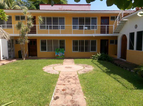 Снять апартаменты в Пуэрто Эскондидо рядом с пляжем.