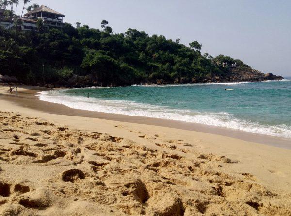 Пляж Carrizalillio в Пуэрто Эскондидо