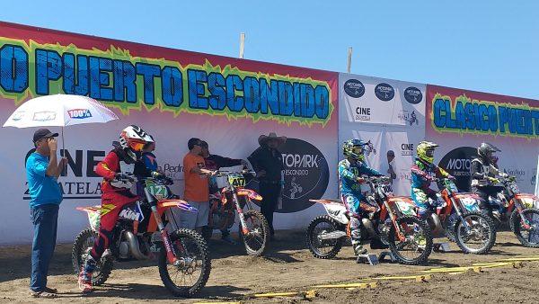 Соревнования по мотокроссу в Пуэрто Эскондидо