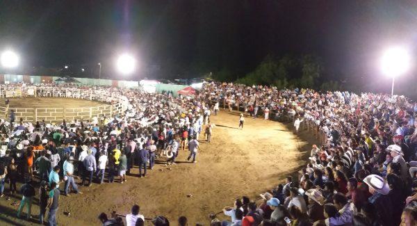 Родео в Мексике в штате Оахака.