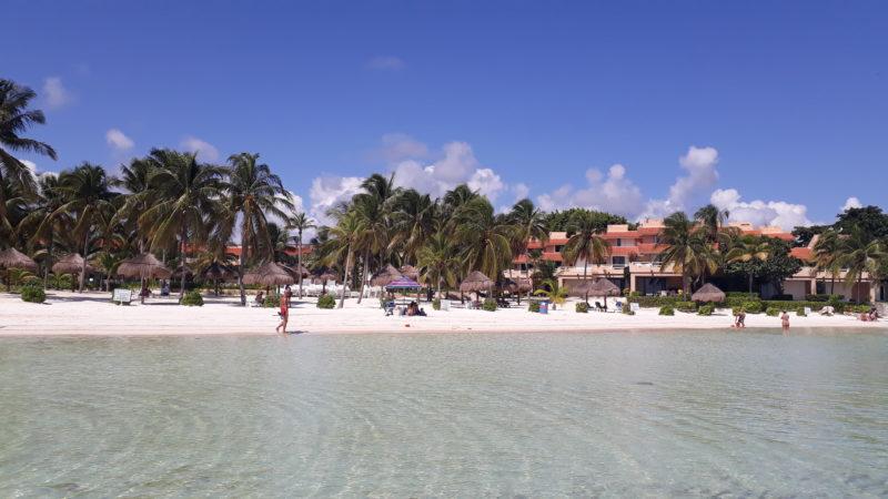 Пляжи Мексики в Пуэрто Авентурас