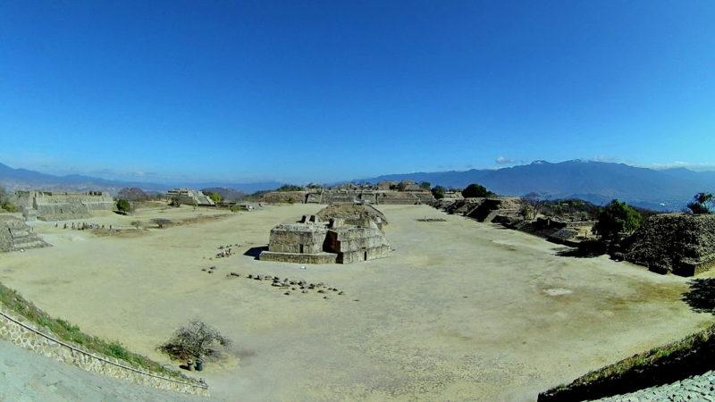 Пирамиды в Оахаке Монте Альбан.