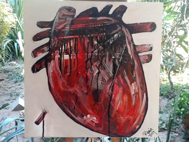 Примеры работ арт галереи в Пуэрто Эскондидо.