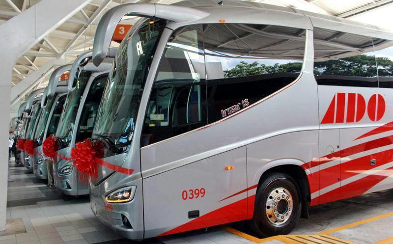 автобусы ADO в Мексике