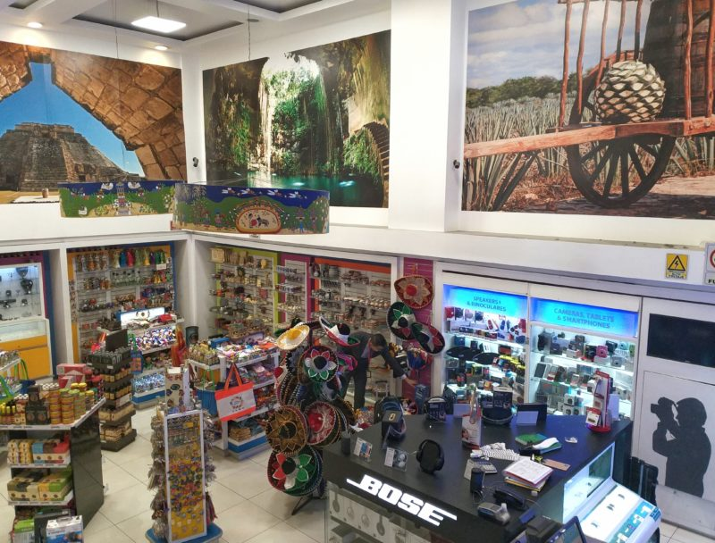 Аэропорт Мехико. Дьюти фри и магазины.