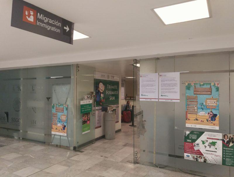 Аэропорт Мехико. Миграсьон.
