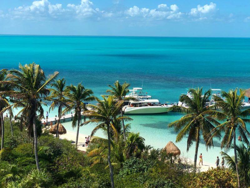 Райские острова Канкуна в Мексике. Контой.