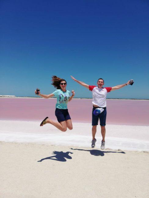 Розовые озера в Мексике. Экскурсия из Канкуна.
