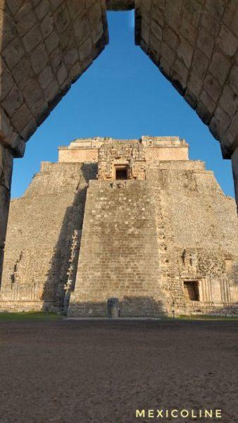 Пирамиды Майя. Ушмаль Мексика.
