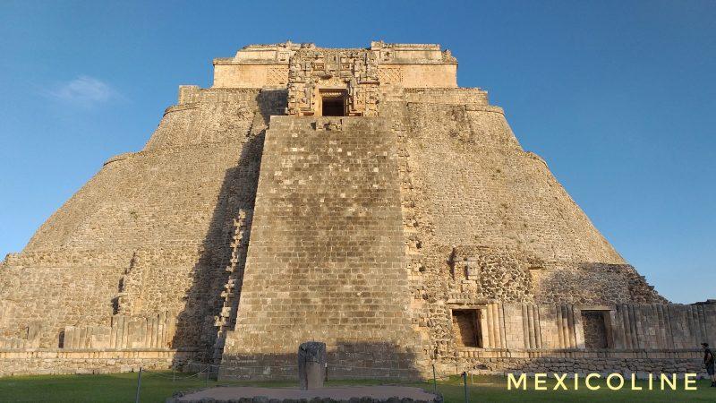 Пирамиды Ушмаль в Мексике.