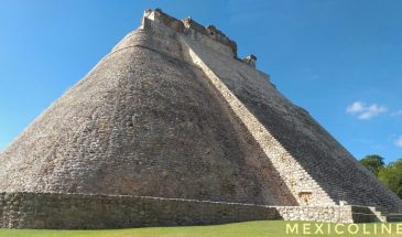 Пирамида волшебника в Ушмаль.