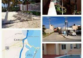 Cancun,2 Комнат Комнат,1 ВаннаяВанных,Квартира,Playa Azul,1014